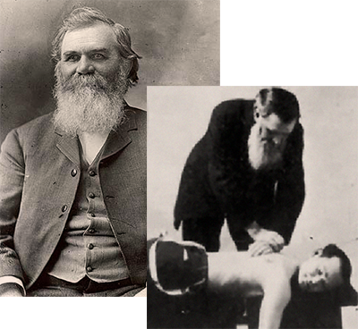 DD Palmer, chiropractic history